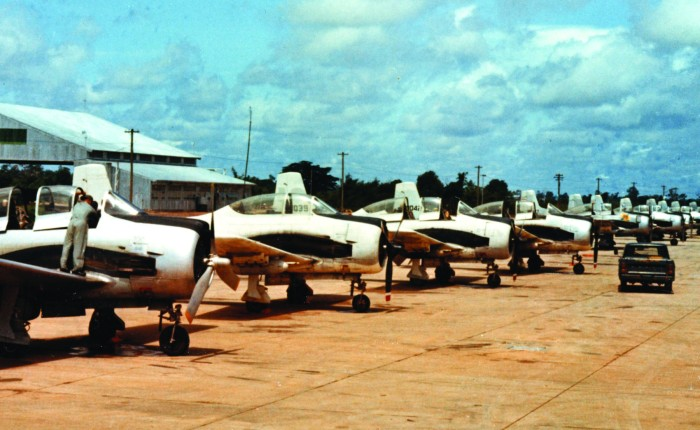 Supporting the Secret War: T-28s over Laos, 1964-1973 – Part 2: Attack Role