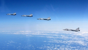 ROYAL AIR FORCE TYPHOONS INTERCEPT 10 RUSSIAN AIRCRAFT IN ONE MISSION