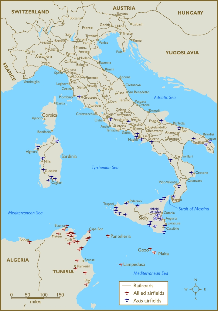 3 - Italy roads and airfields (rails) FINAL