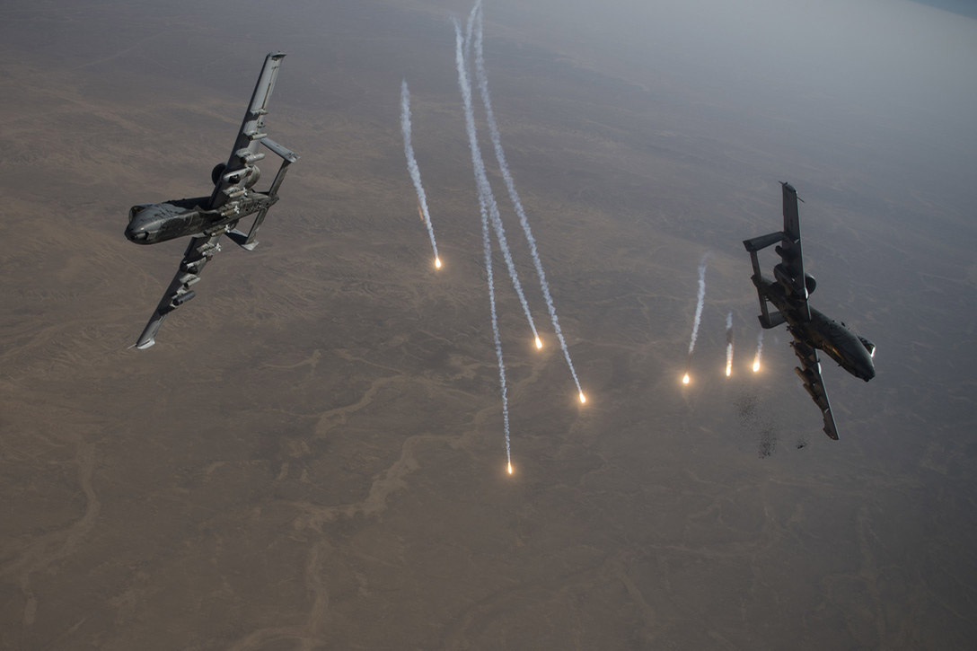 A-10 Aerial Refueling