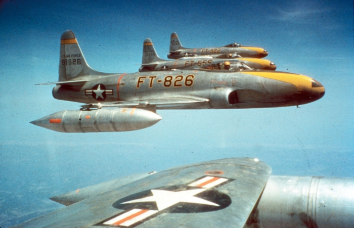 F-80Cs_8th_FBS_over_Korea_c1950